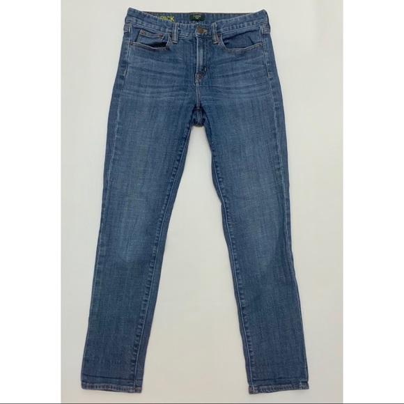 J. Crew Denim - J. Crew Toothpick Skinny Jeans Medium Wash 28 Blue